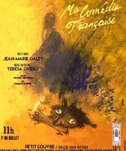 Affiche ma Comédie Française